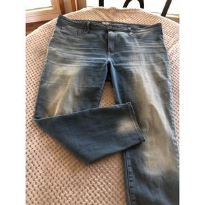 Mossimo High Rise Jegging Skinny Jeans Size 18